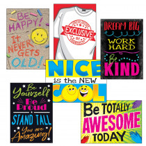 T-A67940 - Be Your Best Posters Combo Pack Argus in Motivational