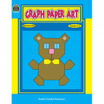 TCR0052 - Graph Paper Art Gr 2-6 in Graph Art