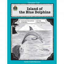 TCR0412 - Island Of The Blue Dolphins Literature Unit in Literature Units