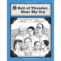 TCR0439 - Roll Of Thunder Hear My Cry Literature Unit in Literature Units