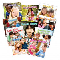 TCR102614 - Little World Social Skills 10 Book Set in Character Education