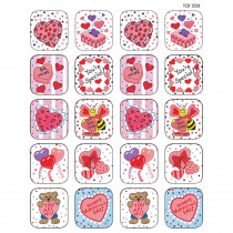 TCR1258 - Stickers Valentines Day in Holiday/seasonal