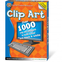 TCR1631 - Clip Art Software Cd in Clip Art