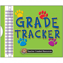 TCR1643 - Paw Print Grade Tracker in Graders