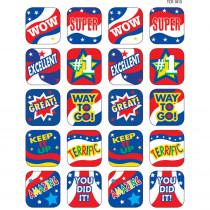 TCR1813 - Usa Spirit Stickers in Holiday/seasonal
