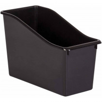 Black Plastic Book Bin - TCR20386 | Teacher Created Resources | Storage Containers