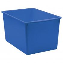 Blue Plastic Multi-Purpose Bin - TCR20430 | Teacher Created Resources | Storage Containers