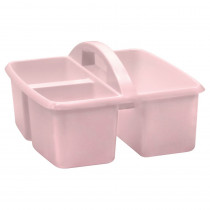 Blush Plastic Storage Caddy - TCR20444 | Teacher Created Resources | Storage Containers