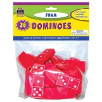 TCR20602 - Foam Dominoes Red in Dominoes