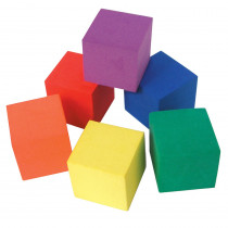 TCR20615 - Foam Color Cubes in Patterning