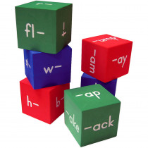 TCR20633 - Foam Word Families Cubes in Word Skills
