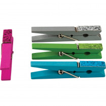 TCR20648 - Glitter Clothespins in Clothes Pins