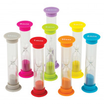 TCR20697 - Small Sand Timers Combo 8 Pk in Timers