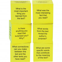 TCR20703 - Foam Nonfiction Comprehension Cubes in Comprehension