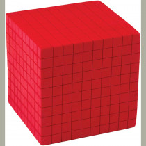 TCR20714 - Foam Base Ten Thousands Cube in Base Ten