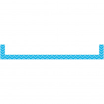 TCR20723 - Aqua Chevron Magnetic Pockets Large in Whiteboard Accessories