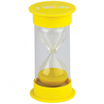 TCR20759 - 3 Minute Sand Timer Medium in Sand Timers