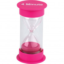 TCR20760 - 4 Minute Sand Timer Medium in Sand Timers