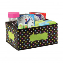 TCR20764 - Chalkboard Brights Storage Bins Sml 8X11x5 in Storage Containers