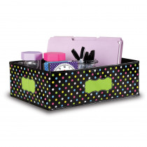 TCR20765 - Chalkboard Brights Storage Bins Med 16X11x5 in Storage Containers