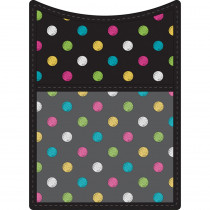 TCR20770 - Chalkboard Brights Magnetic Pocket in Organizer Pockets