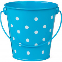 TCR20823 - Aqua Polka Dots Bucket in Sand & Water