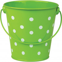 TCR20824 - Lime Polka Dots Bucket in Sand & Water