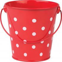 TCR20827 - Red Polka Dots Bucket in Sand & Water