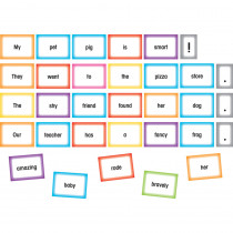 TCR20849 - Silly Sentences Pocket Chart Cards in Sight Words