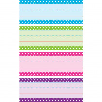 TCR20867 - Bright Polka Dots Word Strips in Sentence Strips