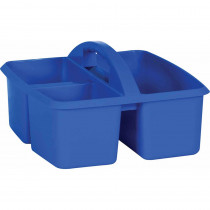 Blue Plastic Storage Caddy - TCR20903 | Teacher Created Resources | Storage Containers