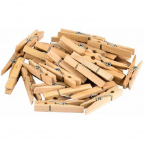 TCR20930 - Stem Basics Medium Clothespins 50Ct in Clothes Pins