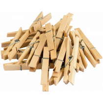 TCR20932 - Stem Basics Clothespins 50 Ct in Clothes Pins