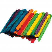 TCR20937 - Multicolor Skill Sticks 250 Ct Stem Basics in Craft Sticks