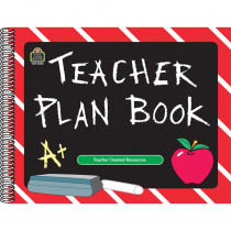 TCR2093 - Teacher Plan Book Chalkboard in Plan & Record Books
