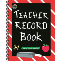 TCR2119 - Teacher Record Book Chalkboard in Plan & Record Books