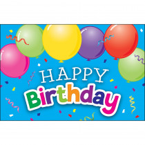 Happy Birthday Balloons Postcards, Pack of 30 - TCR2141 | Teacher Created Resources | Postcards & Pads