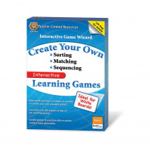 TCR2439 - Game Wizard Sorting Sequencing Matching Gr K-5 in Games & Activities