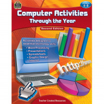 TCR2448 - Computer Activities Through The Year Gr 4-8 in Teacher Resources