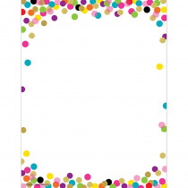 TCR2735 - Confetti Computer Paper in Design Paper/computer Paper