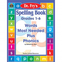 TCR2750 - Spelling Book Words Most Needed Plus Phonics in Spelling Skills
