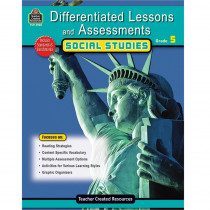 TCR2928 - Differentiated Lessons  Assessments Social Studies Gr 5 in Differentiated Learning