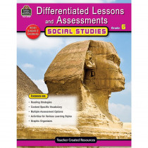 TCR2929 - Differentiated Lessons  Assessments Social Studies Gr 6 in Differentiated Learning