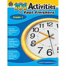 TCR2936 - Gr 1 101 Activities For Fast Finishers in Skill Builders