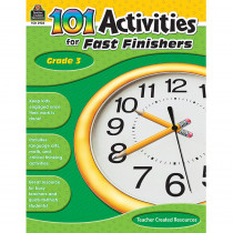 TCR2938 - Gr 3 101 Activities For Fast Finishers in Skill Builders