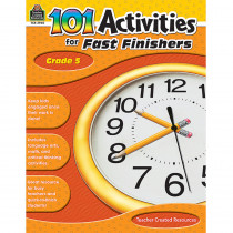TCR2940 - Gr 5 101 Activities For Fast Finishers in Skill Builders