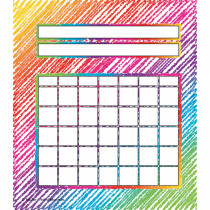 TCR3072 - Colorful Scribble Incentive Charts Pack in Incentive Charts