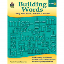 TCR3118 - Building Words Gr 2 in Word Skills