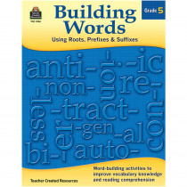 TCR3136 - Building Words Gr 5 in Word Skills