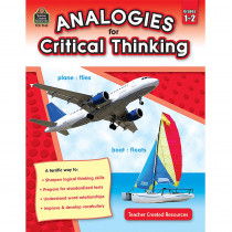 TCR3165 - Gr 1-2 Analogies For Critical Thinking in Books